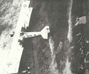 Gotha G.V Bomber on the ground