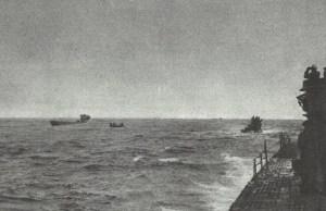 U-Boats are served by a U-tanker