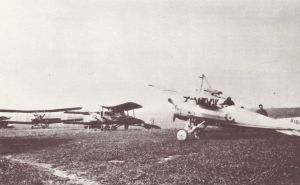 Variety of types on an allied airfield