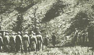 Execution of the Dutchwoman Mata Hari