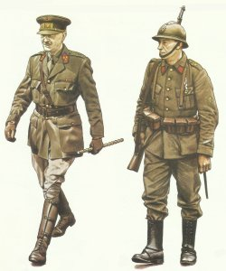 Soldiers Belgian Army, 1940