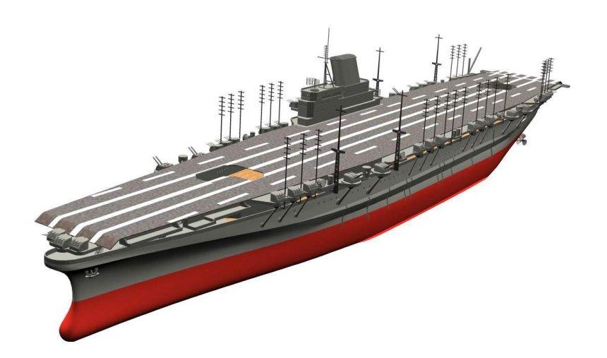 Aircraft carrier 'Shinano'