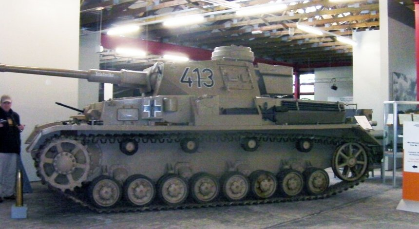PzKpfw IV Ausf G in Panzer Museum Munster