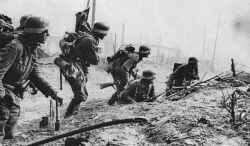 German assault party at Stalingrad.
