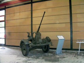 20mm Flak in Panzer Museum Munster