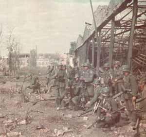 German soldiers Stalingrad Tractor Factory