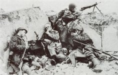 Russian soldiers in Stalingrad.