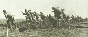 Turkish troops attack in Palestine