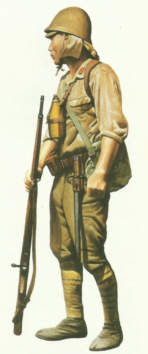 Japanese Army 1941-42 > WW2 Weapons