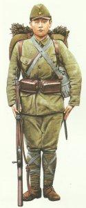 Japanese infantryman 1941