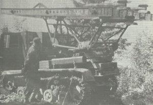 BM-13 launcher on the STZ-5