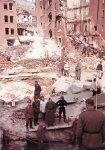 Stuttgart after air raid