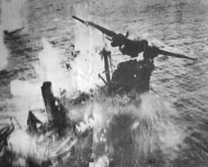 Skip-bombing by Douglas A-20