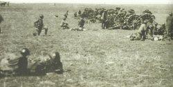 British artillery in Palestine