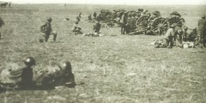 British artillery in Palestine