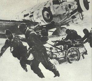 Ju 52 in the  Stalingrad pocket