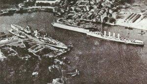 'Goeben' and 'Breslau' at Constantinople