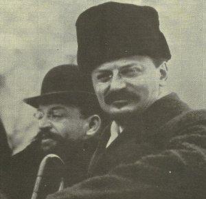 Trotzky peace talks Brest-Litovsk