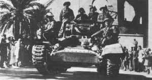 8th Army enters Tripoli