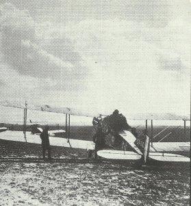 Bristo Flighter prepares for a mission