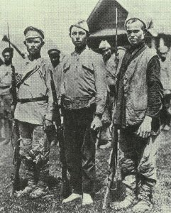 Soldiers of the socialist revolution