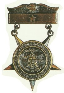 Medal of honor for  mothers