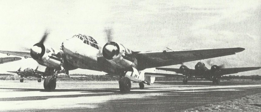 Ju88C long-range fighters