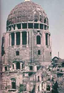 Munich after the night bombing raid