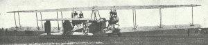 Five-engined Zeppelin Staaken 'Giant' bomber