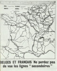 British leaflets for the sabotage of traffic routes