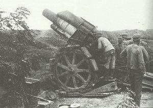 German 21-cm (8in) howitzer