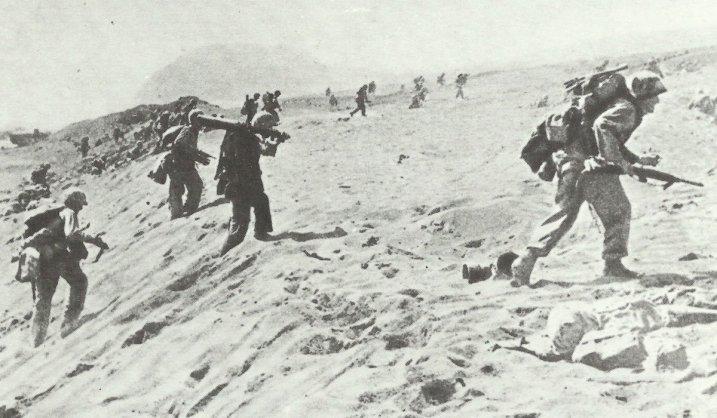 Iwo Jima Browning MG