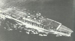 Aircraft carrier HMS Eagle