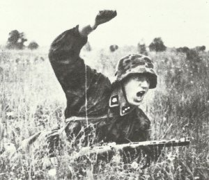SS-Unterscharfuehrer (Corporal) of the Totenkopf Division