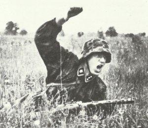 SS-Unterscharfuehrer (Corporal) of the Totenkopf Division