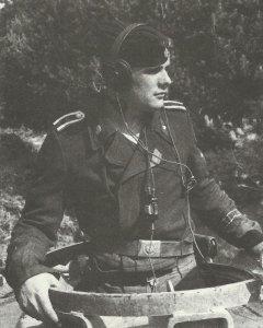 SS-Unterscharführer (Corporal) of the Totenkopf Division