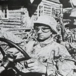 amphibious car of the SS-Totenkopf-Division
