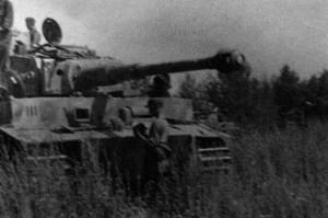 Tiger tank of Totenkopf