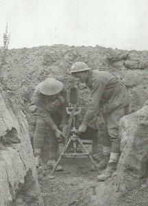 3-inch Stokes Mortar of Australian troops