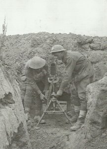 3-inch Stokes Mortar of Australian troops