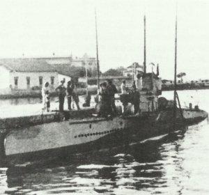 U-47 in Pola