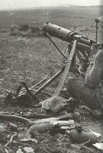 Vickers Gun of Indian troops