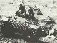 German tank unit equipped with Panzer III 1943