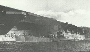 hull of the 'Ibuki'