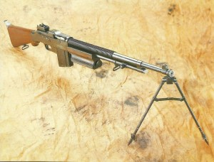 BAR M1918 with bipod