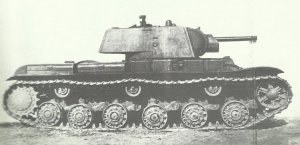 first series of KV tanks