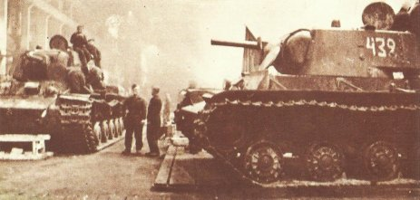 KV-1 production