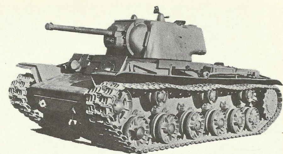 Heavy KV-1 tank