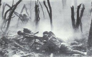 US tropps in heavy combat in the Argonne