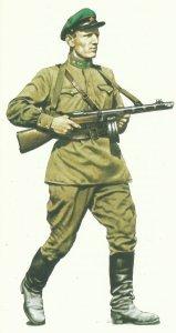Member of the border troops of the NKVD